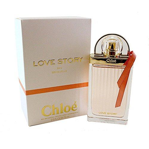 Chloé Love Story Eau Sensuelle Eau de Parfum femme woman, 1er Pack (1 x 75 ml)