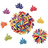 Ceramic Mosaic Tiles for Crafts, Petal Mosaic Pieces for Crafts Bulk (Mixed Colors,568g,20 Ounce)