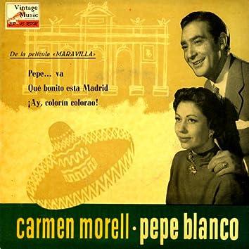 "Vintage Spanish Song Nº61 - EPs Collectors ""Carmen Morell Y Pepe Blanco"" O.S.T.: ""Maravilla"""