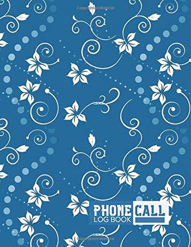 Phone Call Log Book: Follow Up Phonebook, Telephone Memo Recorder...