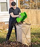 Lawn Claws - Easy and Durable Plastic Garden Hand Rake and Yard Leaf Scoop Tool, 45TAF6