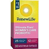 Renew Life #1 Women's Probiotics 25 Billion CFU Guaranteed, 10 Strains, Shelf Stable, Gluten Dairy &...