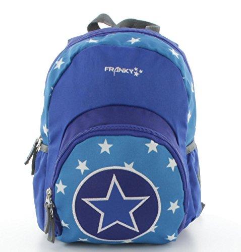 Franky Kinderrucksack KRS1 Mini Backpack blau