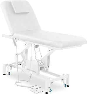 Physa Massageliege Massagetisch Behandlungsliege Therapieliege LYON WHITE (weiß, 2 Zonen, elektrisch, bis 200 kg, individu...