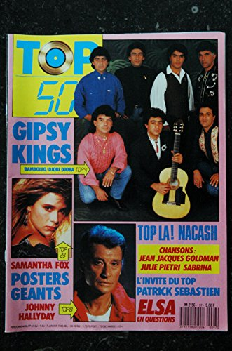 TOP 50 097 1988 01 SAMANTHA FOX GIPSY KINGS JOHNNY HALLYDAY ELSA HALLYDAY
