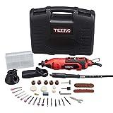 TEENO Mini Amoladora eléctrica Profesional Kit de herramientas rotatorias multifunción c...