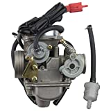 GOOFIT 24mm PD24J Carburateur Carb pour GY6 4 Stroke 125cc 150cc ATV Go Kart...