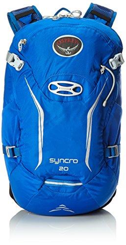 Osprey - Mochila de ciclismo 'Syncro 20', tamaño S/M, azul 2016