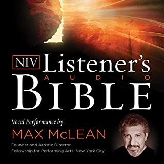 The NIV Listener's Audio Bible cover art