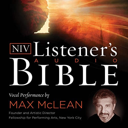 Listener's Audio Bible - New International Version, NIV: Complete Bible cover art