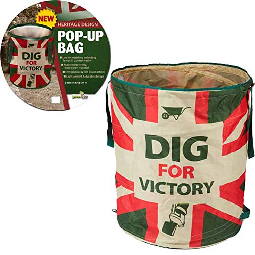 Dig for Victory Pop-Up Garden Sac pour déchets de 58 cm x 45 cm