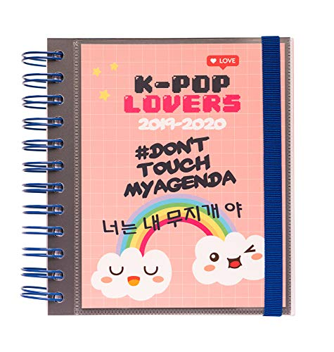 Agenda escolar 2019/2020 día página M K Pop