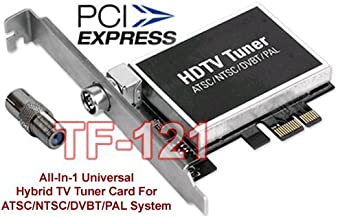 Hybrid Digital ATSC DVB-T QAM Tuner + Analog NTSC PAL TV Tuner Card with DVR Recording