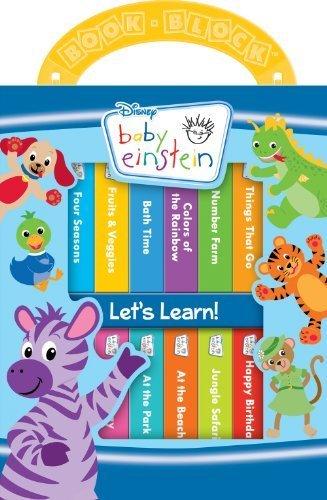 Baby Einstein 12 Board Book Block Set (Baby Einstein: My First Library) (2013-06-15)