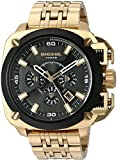 Diesel Men's 'Bamf' Quartz Stainless Steel Watch, Color:Gold-Toned (Model: DZ7378)