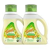 Gain Botanicals Plant Based Laundry Detergent, Orange Blossom Vanilla,...