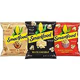 Smartfood Popcorn, 3 Flavor Variety Pack, 0.5oz Single Serve Bags (18 Pack)