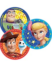 """Toy Story 4"" Assorted Round Party Paper Plates 7"", 8 Ct., 542367.99"