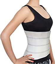 Abdominal Binder Support Post-Operative, Post Pregnancy And Abdominal Injuries. Post-Surgical Abdominal Binder Comfort Belly Binder (Medium (46