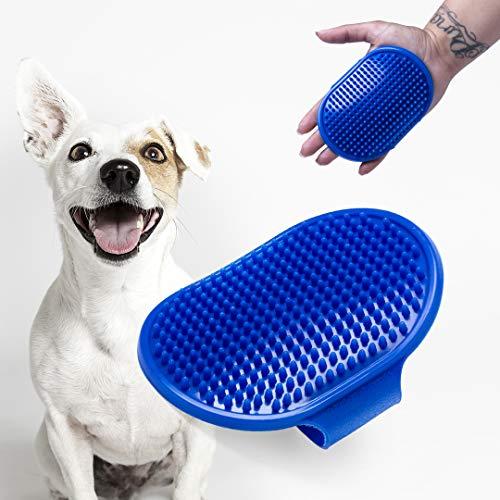 Cepillo para mascotas, cepillo de mano para perros y gatos, ajustable, ideal para llevar de viaje, paseo, en el bolso, cuidado de mascotas, accesorios mascotas