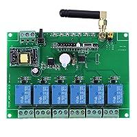 制御用リレースイッチ高安定1個6チャンネルRFリレーモジュールボード