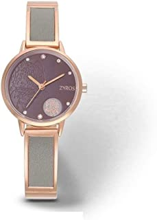 Zyros Casual Watch For Women Analog Metal - ZY1118L101027