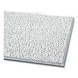 "Fissured Ceiling Tiles | Angled Tegular (0.94"") | 24"" X 24"" X 0.63"" | White | 16/Carton | 1 Carton of: 1"
