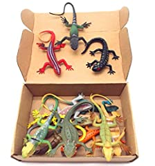 For the crowd: children over 3 years old; dinosaur animal lovers, collectors owners Material: Vinyl Glue, 12 small lizards installed Purposes: training children awareness of the natural world of animals, children knowledge map aids, decorative furnis...