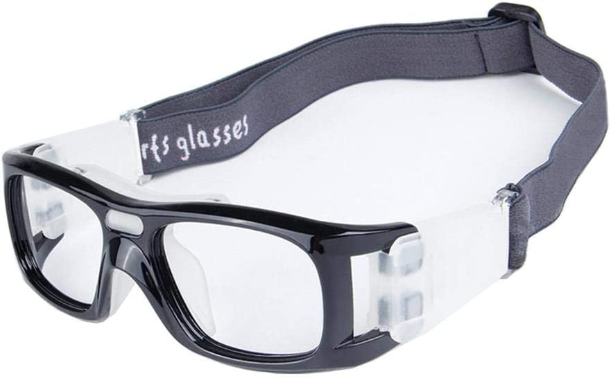 Uteruik Gafas Protectoras para Gafas de Baloncesto Gafas Protectoras para Deportes de fútbol Eyeguard para Adultos, 1 Juego (Goggle - E)