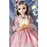 mildily Set De Muñecas para Niñas, Fashion Doll Set Girl Single Princess Doll Smart Doll 18 Inch Simulation Doll, Adecuado para Juguetes para Niños