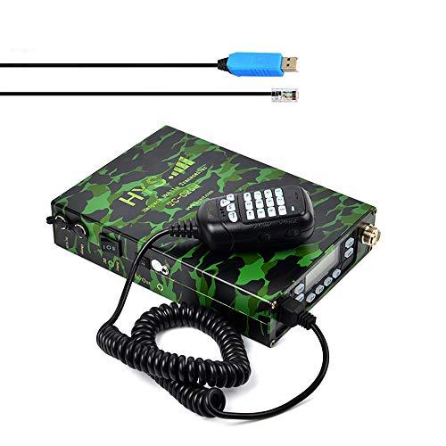 HYS M25W Mobiler Amateurfunk-Transceiver Dualband-UKW-UHF 136-174/400-480 MHz Tragbares Amateurfunk Kompatibel mit Programmierkabel & Software