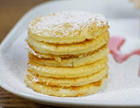 The KISS Plan Satisfying Gratifying Golden Pancakes Weight Loss Programme for a Balanced Diet Healthy Life – Keto VLCD Meal Box of 10 Estimated Price : £ 7,99