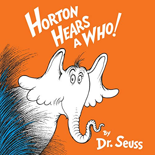 Horton Hears a Who Audiobook By Dr. Seuss cover art