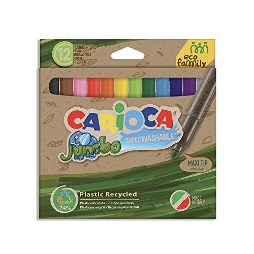 Carioca, Multicolor, 12 rotuladores (43101)