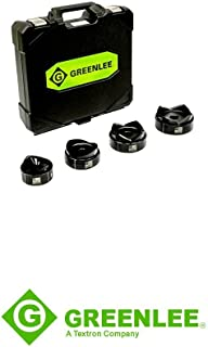 Greenlee 7304 Standard Punches and Dies For 2-1/2 through 4-Inch ConduitGreenlee 7646 Ram and Hand Pump Hydraulic Driver Kit