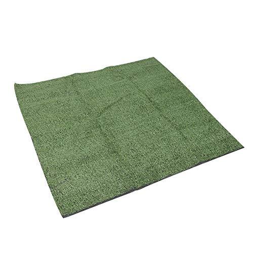 Kunstgras, Evergreen Nep Gras Natuurlijk Gras Tapijt Synthetisch Gazon voor Daktuin (Emerald Green)