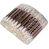 Esponja de algodón de yodo desechable Desinfectar Esterilización de heridas Palillo de algodón 100pcs Esponja de algodón con yodóforo para recién nacido Desinfección de ombligo Desinfección de heridas