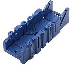 Curroxer Caja de ingletadora para carpintería, con ángulo de 45° 90°, para carpintero, carpintero, herramienta de bricolaje