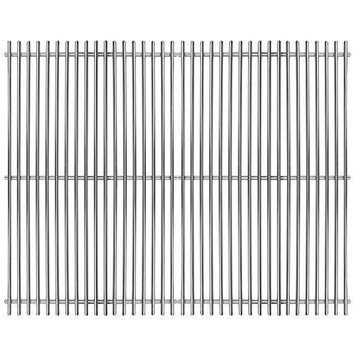 Utheer 7528 304 Stainless Steel Cooking Grates for Weber Genesis E and S Series 300 E310 E320 S310 S320 Gas Grills, Weber Genesis Grill grates, Weber Genesis Grill Parts, 19.5 x 12.9 inch