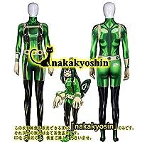 僕のヒーローアカデミアMy Hero Academia 蛙吹梅雨 全身タイツ コスプレ衣装
