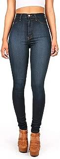 Women's Classic High Waist Denim Skinny Jeans