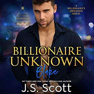 Billionaire Unknown audiobook cover art