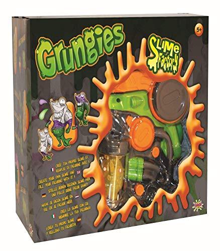 Splash Toys 30470I - Grungies Slime Factory, Schleimfabrik zum Herstellen von buntem Schleim und Befüllen von Monsterfiguren ( enthalten), Spielzeug Fabrik zur Produktion von Schleim