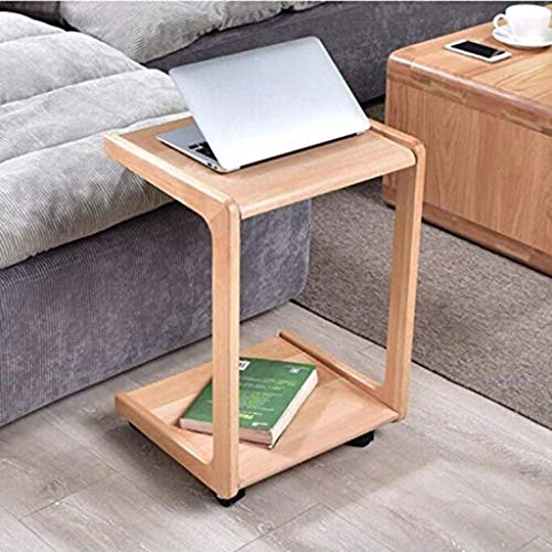Coffee Table Chair Solid Wood Edge A Few Sides Table Modern Sofa Side End Table Small Coffee Table Mobile Tea Table Nordic Pure Solid Wood