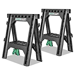 Hitachi 115445 folding sawhorses review