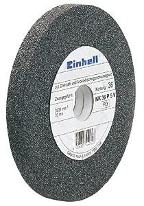 Einhell Grey Schleifscheibe grob 150x12,7x20 mm - Accesorio para tornos (tamaño: 150x12.7x20mm)