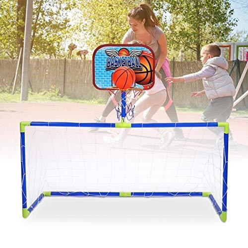 SALUTUYA Equipo de Baloncesto para niños de Alta Resistencia y Durabilidad Mini Sistema de fútbol de Baloncesto, Regalo para niños