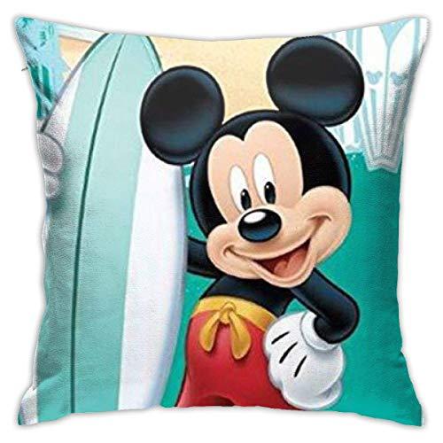 Throw Pillow Case Navegación con El Mouse con Teclas De Micrófono Tirar Almohada Cojin Personalizado Funda De Almohada para Cojín Suave Funda Decorativa para Cojín para Sofá Cama Oficina 45X45Cm