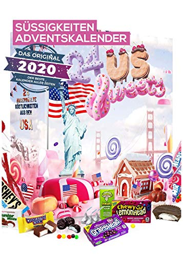 Adventskalender American Candy 2020