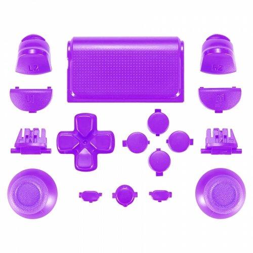 PS4 Controller Mod Kit für JDM-030 Modell - Lila